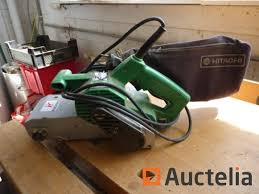 hitachi belt sander. hitachi belt sander m