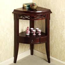 corner table attractive small corner accent table small corner accent table with drawer of corner