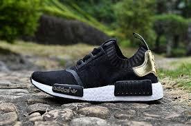 adidas shoes nmd womens black. discount adidas originals nmd r1 runner primeknit womens shoes black gold nmd