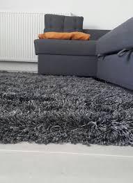hampen high pile rug gray 133 195