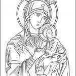 Gigantic Our Lady Of Guadalupe Coloring Page Free Printable Pages
