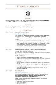 Electrical Engineer Resume Example Electrical Engineer Resume