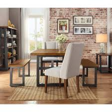 Better Homes And Garden Kitchens Better Homes And Gardens Mercer Dining Bench Walmartcom