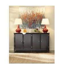 home decorators collection oxford black storage console table