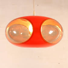 Ufo Pendant Lamp In Orange Plexi Luigi Colani 1970s Design Market