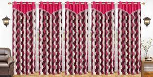 Designer Curtains Flipkart Elite Dekor 212 Cm 7 Ft Polyester Door Curtain Pack Of 5