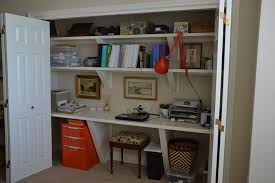 closet home office. Great Office Design, Closet Home Office: Simple And Comfortable Design .