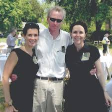 Edward Dukes, Secretary with Evy Trask (left) and Patty Kennedy ...