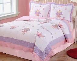 fairy princess garden quilt and 2 shams by pem america