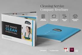 Cleaning Brochure Cleaning Service Company Brochure A5