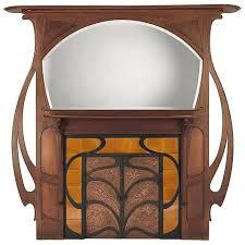 modern art nouveau furniture. gustave serrurierbovy chimneypiece made for the paris exhibition of 1899 art nouveau furniturefurniture designmodern modern furniture