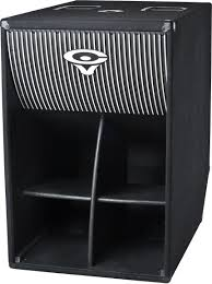 el 36c cerwin vega folded horn series speakers subwoofers