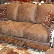 Leather Sofa Cowboy Leather Sofas Western Leather Sofa