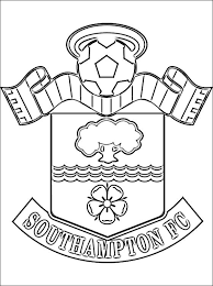 Small Picture Coloring page Southampton FC Coloring pages