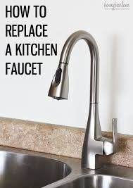 awesome moen motionsense kitchen faucet how to replace a kitchen faucet