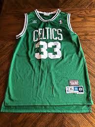 Mens Throwback Swingman Larry Bird 33 Boston Celtics
