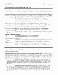 Mechanical Design Engineer Resume Cover Letter Resume format for Experienced Mechanical Design Engineer New 14