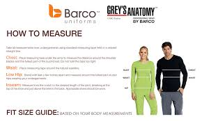 Barco Grey S Anatomy Scrubs Size Chart Barco Greys Anatomy Classic Womens Tie Front Pant
