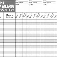 Weight Progress Chart New Weight Loss And Measurement