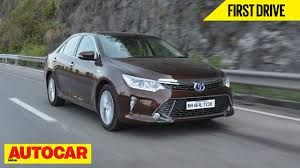 2015 Toyota Camry Hybrid | First Drive | Autocar India - YouTube