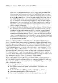 conclusions and recommendations adapting to the impacts of page 222