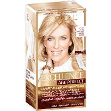 L Oreal Excellence Age Perfect Hair Color Chart Upc 071249292853 Loreal Paris Excellence Age Perfect