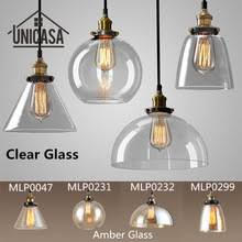 modern industrial lighting fixtures. ship from us amberclear glass shade pendant lights industrial lighting fixtures kitchen home modern led light vintage ceiling lamp u