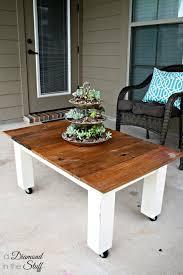house luxury diy outdoor coffee table