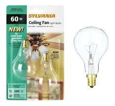 ceiling fan light bulb wattage um size of bulbs led