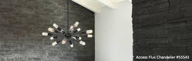 access lighting flux chandelier