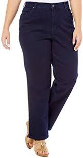 Gloria Vanderbilt Jeans Size Chart Gloria Vanderbilt Womens Plus Size Amanda Classic Fit Jean
