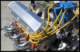 ford hei distributor amp accel wires blue kit photobucket