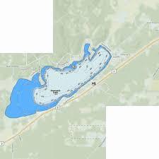 Diamond Lake Fishing Map Us_wa_01518754 Nautical