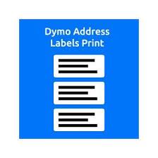 Print Address Labels Dymo Address Labels Print