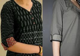 3 Quarter Sleeves Design 50 Latest Sleeves Design For Kurti To Try In 2019 Bling