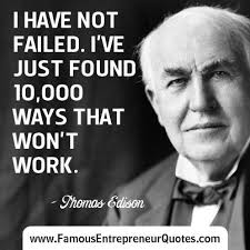 Thomas Edison Quotes New Inspirational Thomas Edison Quotes About I Have Not Failed Golfian