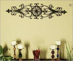 tuscan decorating tuscan decorating you can hang the large wrought iron wall  on tuscan style wrought iron wall decor with tuscan decorating wrought iron wall decor tuscan wrought iron wall