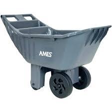 gorilla garden cart carts new tips home depot wheelbarrow yard heavy assembly