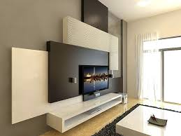Great Featured Wall With Tv Feature Wall And Most Ply Wood
