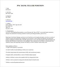 Bank Teller Job Description Template 6 Free Word Pdf Format