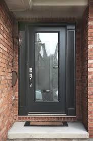 patio door glass insert new modern grey front door with full glass insert house of patio