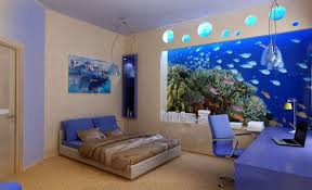 blue bedroom decorating ideas for teenage girls. Delighful Ideas Decorate A Blue Bedroom Design Ideas For Teenage Girl With Deep Sea Wall  Paper To Decorating Girls W