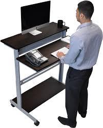 full size of desk workstation surprising stand up computer desk attractive desks laminate top