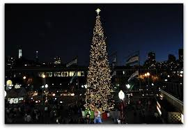 PicturePhoto Christmas Tree On Union Square At Night San Christmas Tree In San Francisco