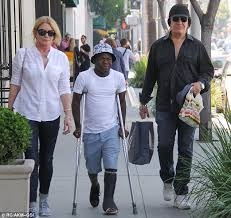 gene simmons wife wedding dress. gene simmons and wife shannon spotted with their foster son in la wedding dress