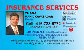 life insurance canada quotes inspiration thana manickavasagar toronto ontario insurance agents consultants