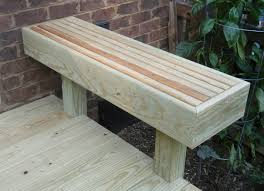 deck bench plans benches build