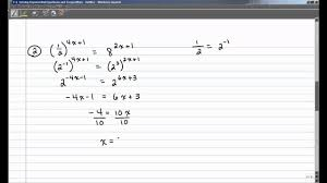 7 2 solving exponential equations and inequalities