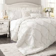259 Best Ruffle Princess Bedding Set Images On Pinterest Country Style Comforter Sets
