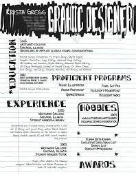 Sample Resume For Graphic Artist Graphic Design Resume Template 8